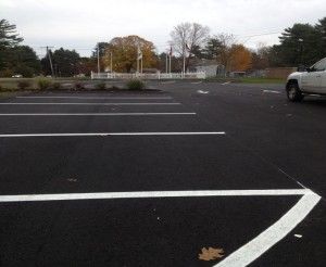 Great Oak Services Line Painting for Parking